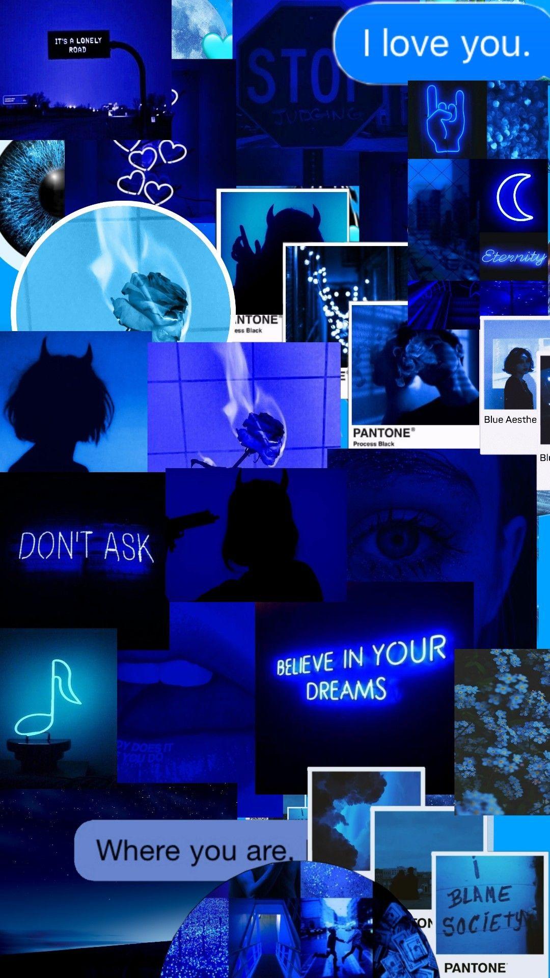 Led Neon Wallpaper Electric Blue Neon Blue Aesthetic J Yings3cr3tworld