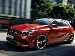 Image result for mercedes benz hatchback red