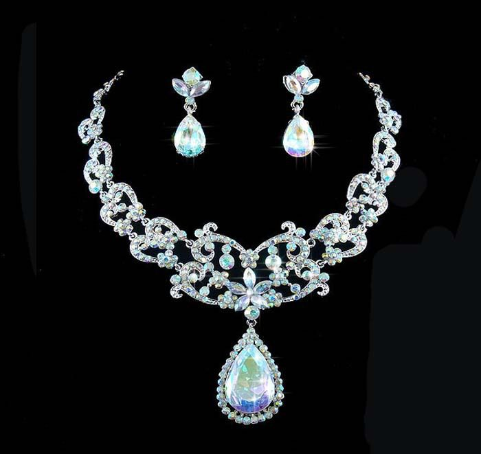 Crystal bridal jewelry sets wholesale from China jewelry