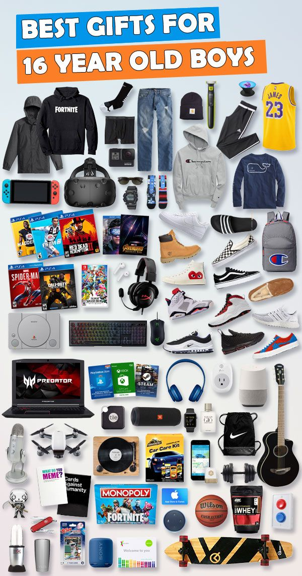 See over 675 gifts for 16 year old boys for Birthdays and Christmas. Tons  of ideas - Electronic, games and car gift ideas. Here are the best gift  ideas for ... - Gifts For 16 Year Old Boys [Hundreds Of Choices] - Christmas And