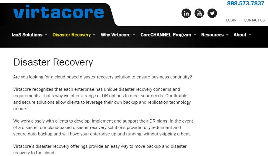 Disaster Recovery Services  Anything