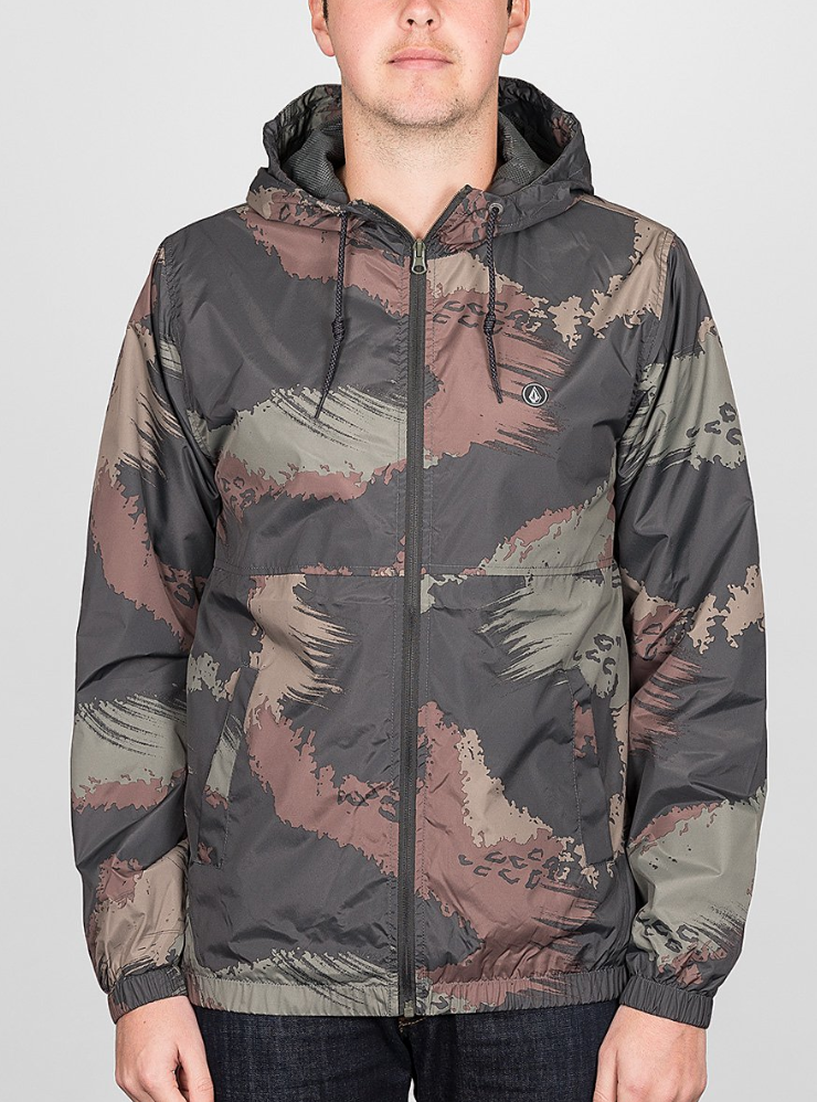 4539c247fc736 The Ermont Jacket takes classic windbreaker style deep into the streets.  Men's hooded windbreaker is treated with 600mm of weather coating to block  out rain ...