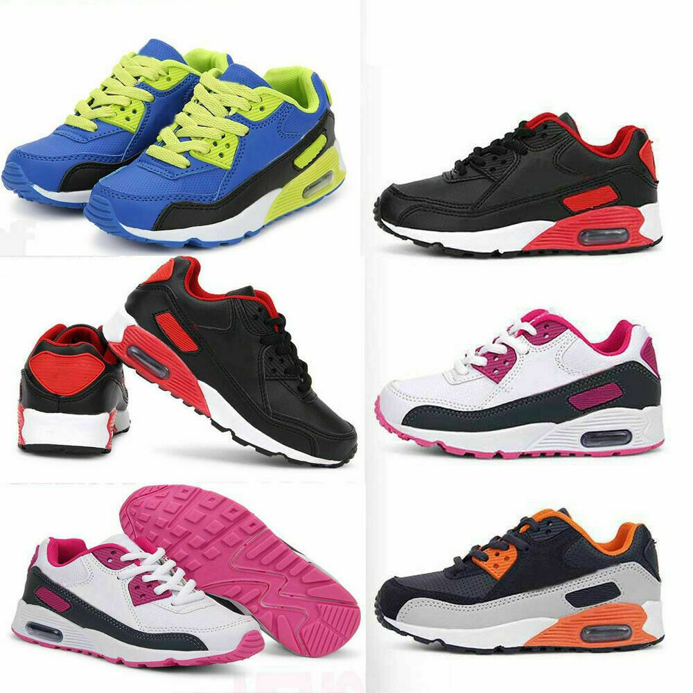Chaussures de Sport Enfant Garçon Fille Baskets Running