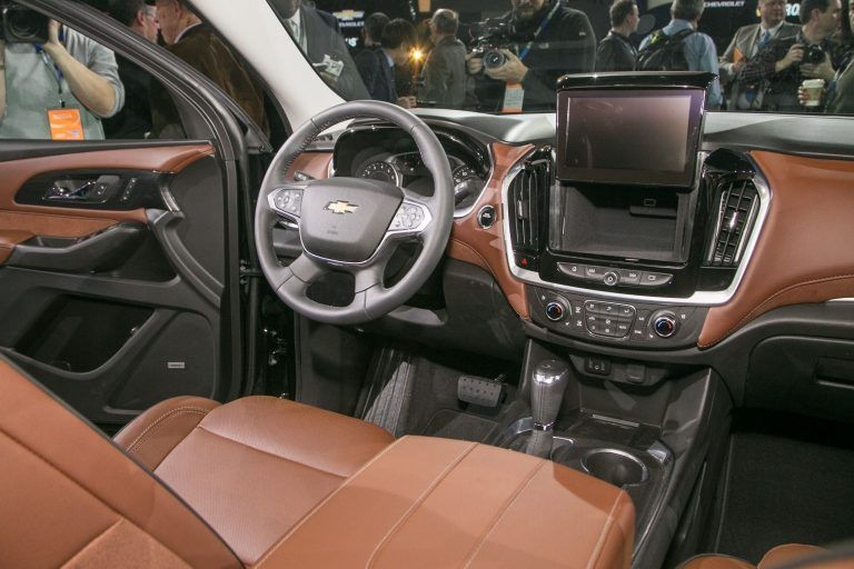 2019 Chevrolet Traverse Colors Interior Exterior And Review