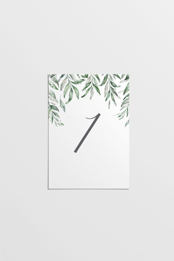 Download our Olive Table Numbers printable to add an earthy element - Download Numbers Spreadsheet For Mac