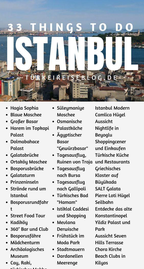 33+ Sehenswürdigkeiten in Istanbul! Interessante Orte, Museen, Antike Ruinen, gute Restaurants, schöne Bosporusrundfahrten, Strände, Inseln im Marmarameer, Blaue Moschee, Hagia Sophia, Sultanspaläste und Tipps zum Sightseeing in Istanbul findest Du in meinem Guide im TürkeiReiseblog.de! #Türkei #Istanbul #Sehenswürdigkeiten #Urlaub #Reisen #Reiseblog