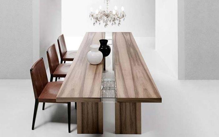 Table De Salle à Manger En Bois Massif En 24 Designs Modernes