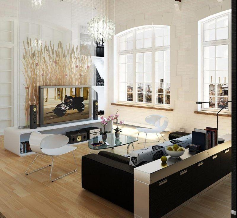 Moderne Wohnideen Wohnwand Mit Deko Wohnideen Wohnzimmer