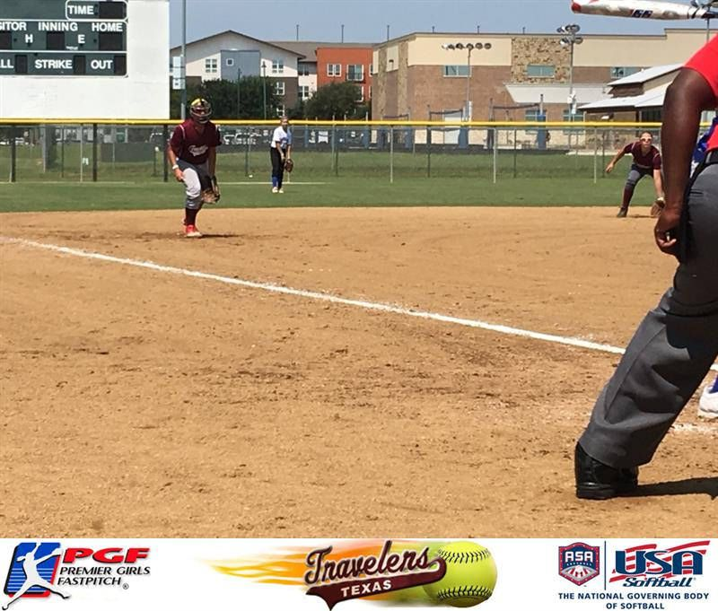 Madison Gonzales 18 From Texas Travelers Black Also Fielded At 3rd And Second Base At The The 12u Usssa All State Games 8 5 17 State Game Texas Meet The Team