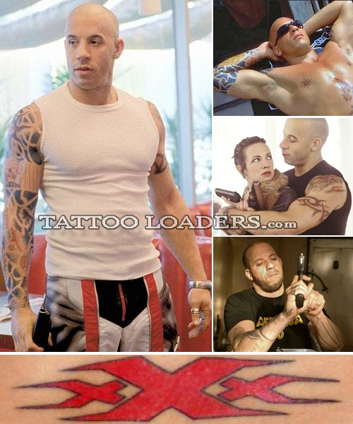 Vin Diesel Tattoo Design