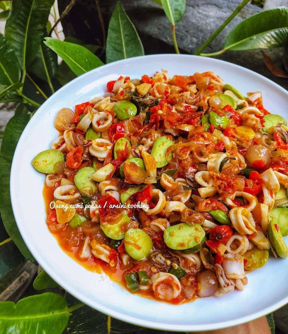 Resep Oseng Oseng Pedas Instagram Berbagi Resepmasakan Re Masakan Di 2020 Resep Masakan Masakan Resep Makanan