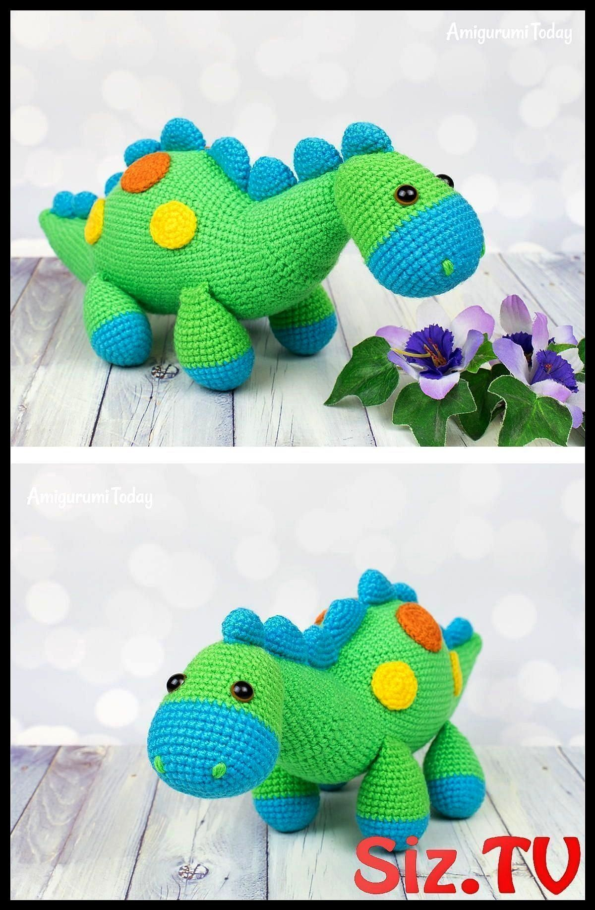 Dinosaur Crochet Pattern Amigurumi Dinosaur Crochet Pattern Are You On The Hunt For A Cute Amigurumi Dinosaur Pattern Our Crochet Dinosaur C Amigurumi Dinosaur Crochet Pa...