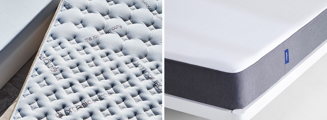 Loom Leaf Vs Casper A Point By Point Comparison Memory Foam Mattress Mattress Comparison Casper Mattress