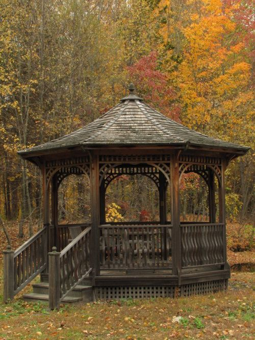 Gazebo - This would be my outdoor studio in summer. More | Gazebos ...