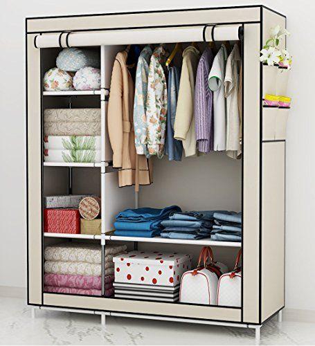 Udear armario de ropa de tela closet organizador ropero - Armario ropero tela ...