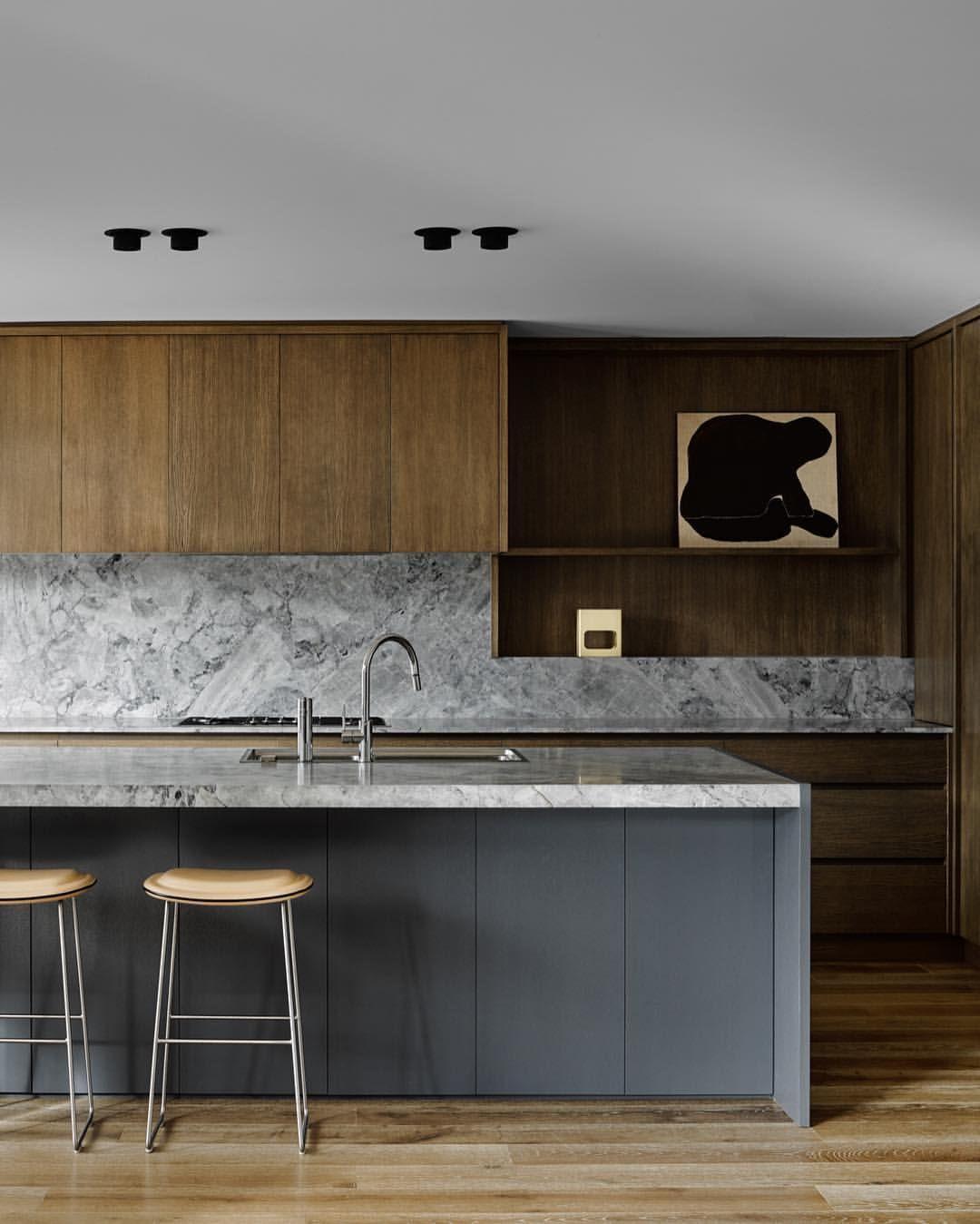 Grey Stone & Wood