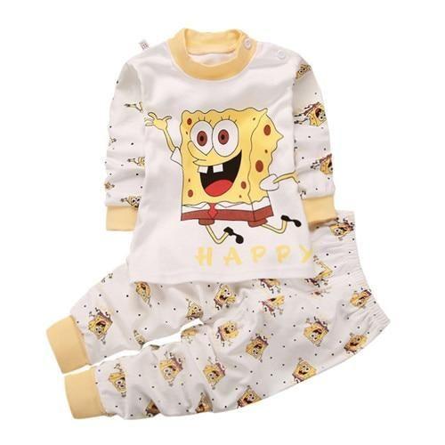 new arrival 00870 4a7a1 Frühling Baby Kinder Pyjamas Kleidung Set Nachtwäsche ...