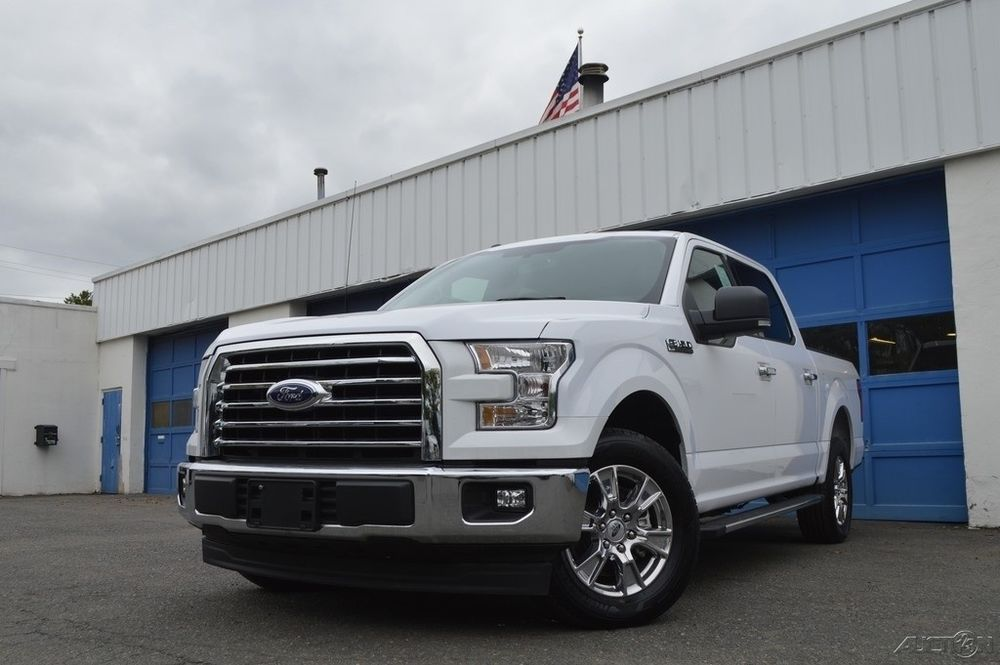 Ford F  Xlt Power Everything Chrome Appearance Pkg Running Boards Tow Hitch Rear Cam Ebay Link