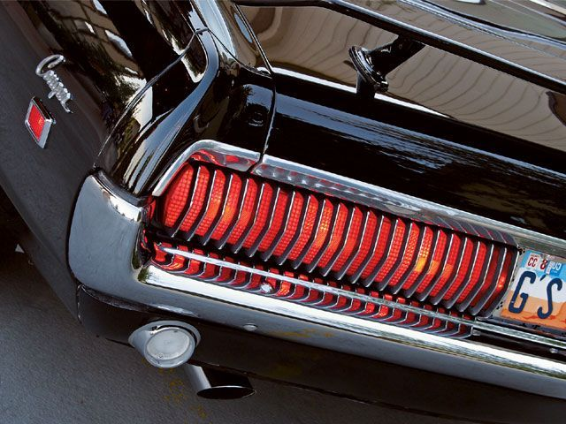 My favourite taillight of all times - Mercury Cougar