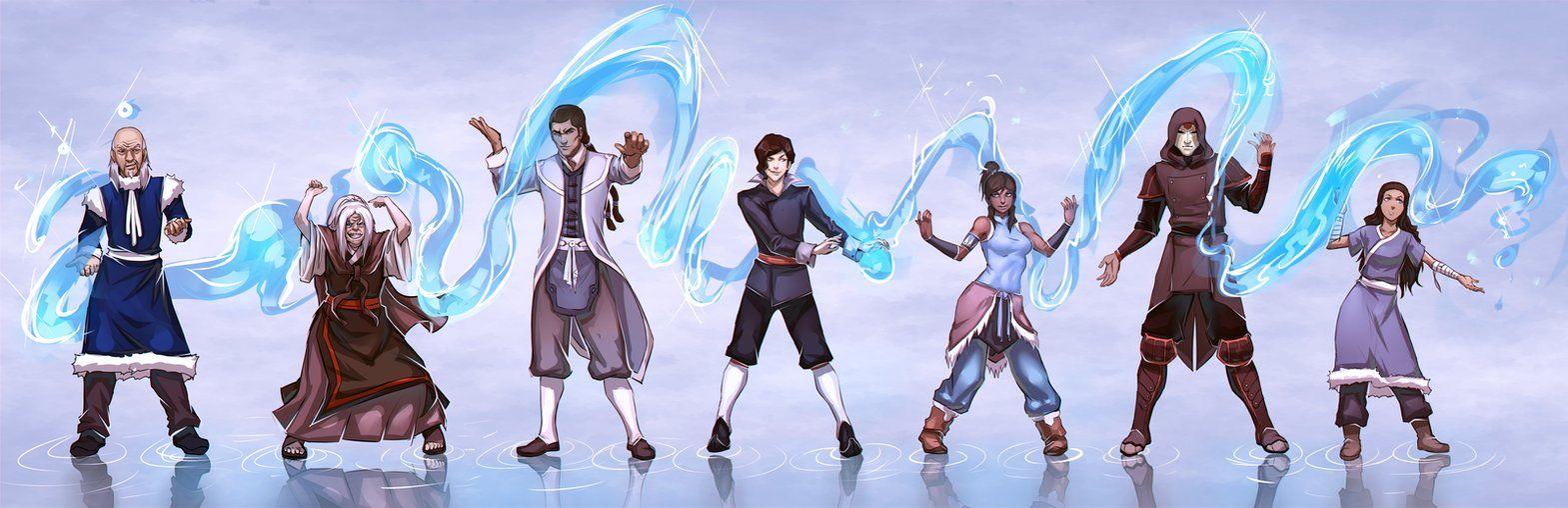 Waterbenders | Avatar, Korra, Avatar aang