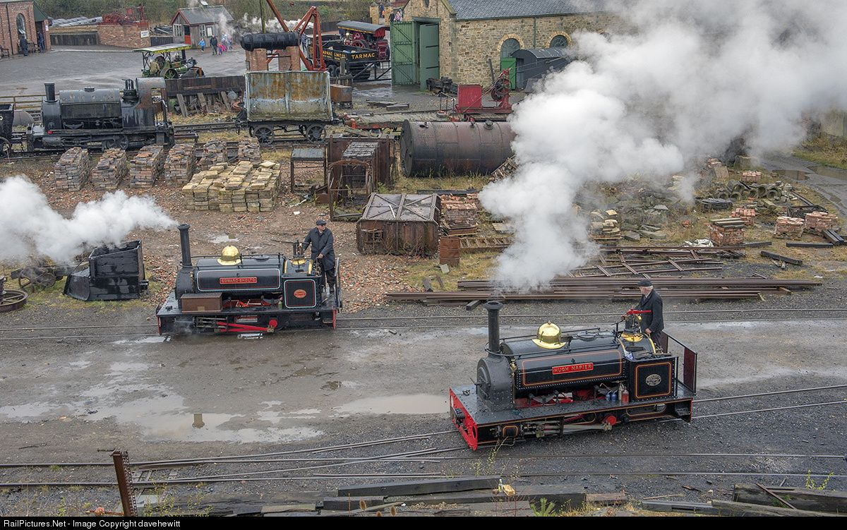 RailPictures.Net Photo: Beamish Museum Steam 0-4-0 at Gateshead, United Kingdom…