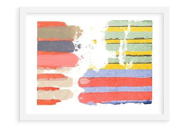 Love these Erik Barthels prints! Punnett Square I, $129 from One Kings Lane. A set of 3 would make such a statement