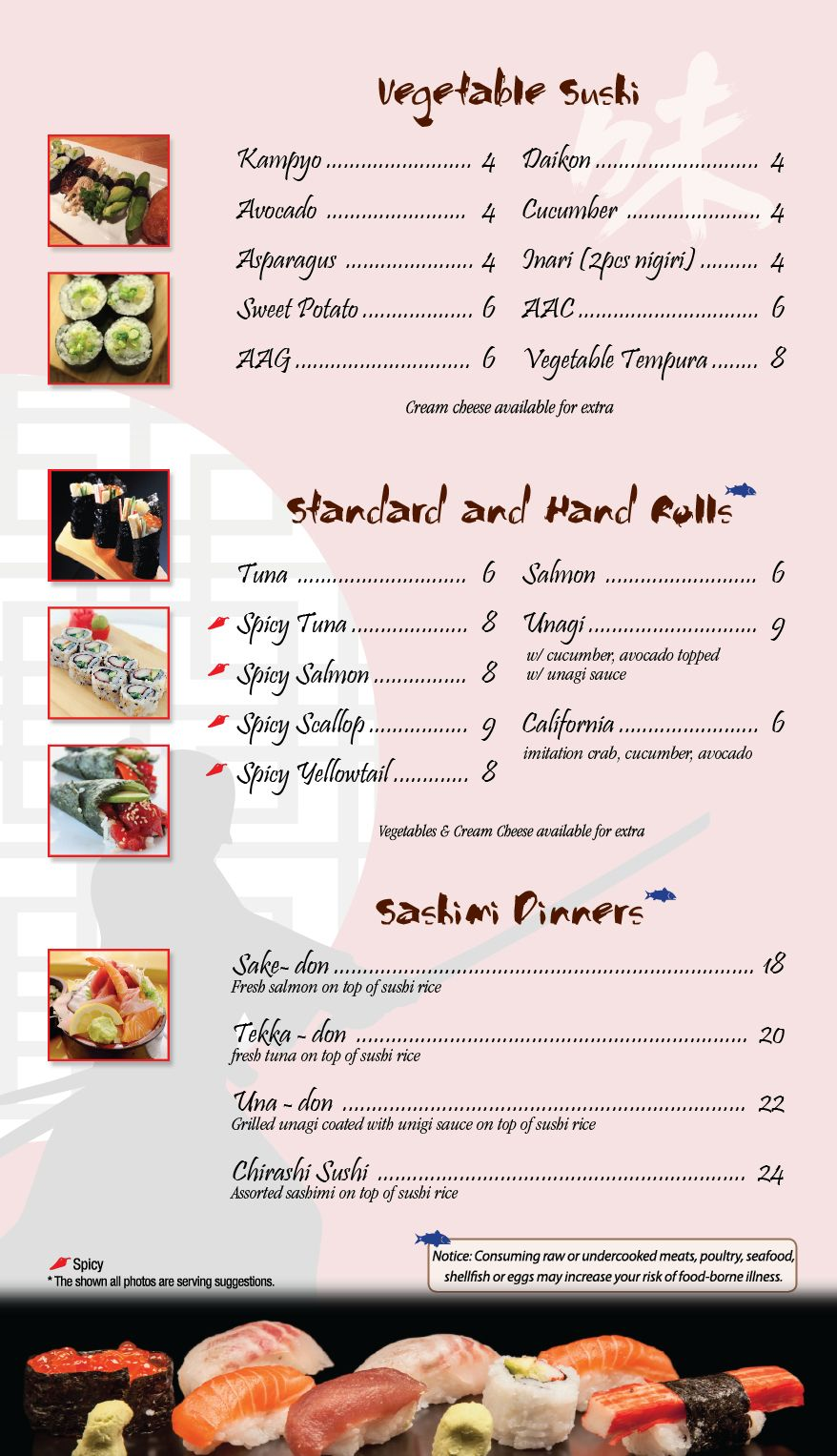 Welcome To Samurai Sushi Grill Japanese Food And Sushi