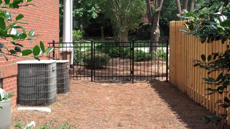 steel gate Elite Fencing Types of fences, Steel gate