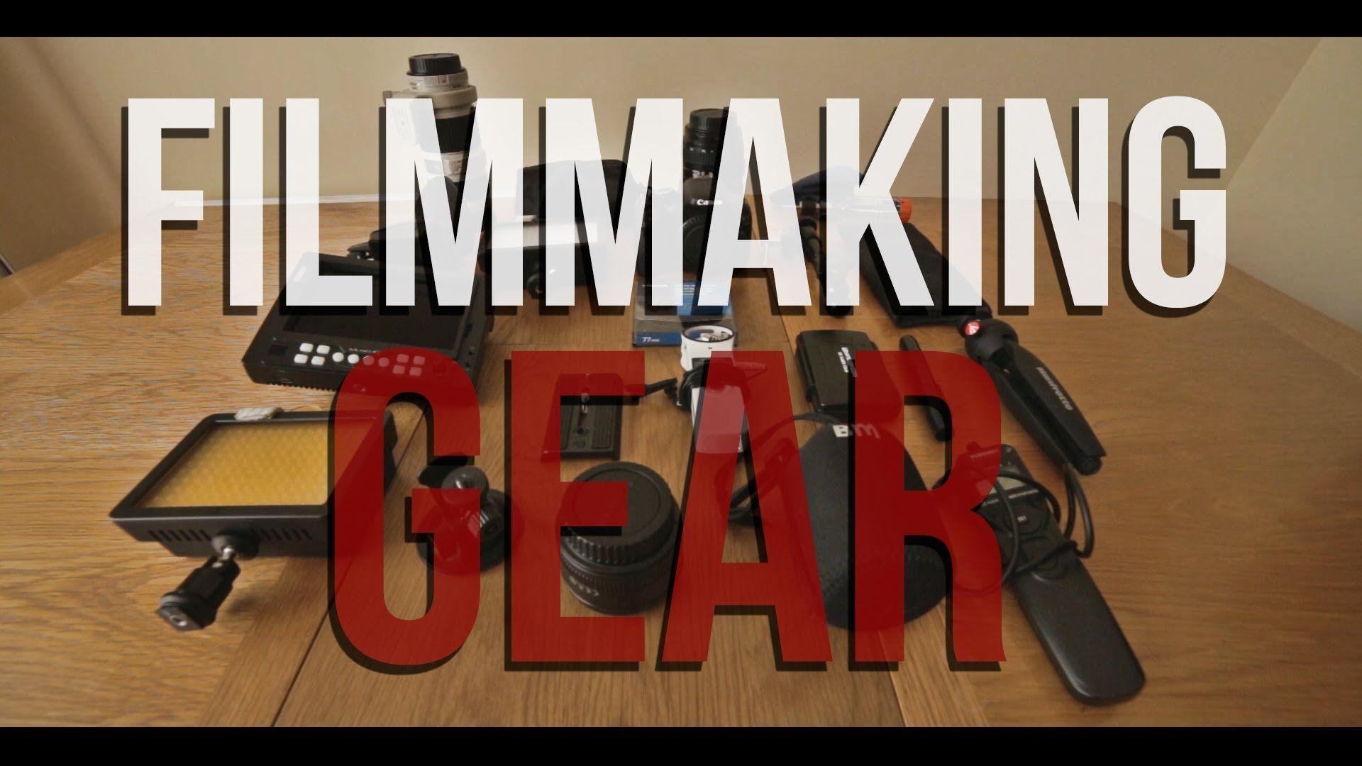 awesome DSLR Filmmaking Gear