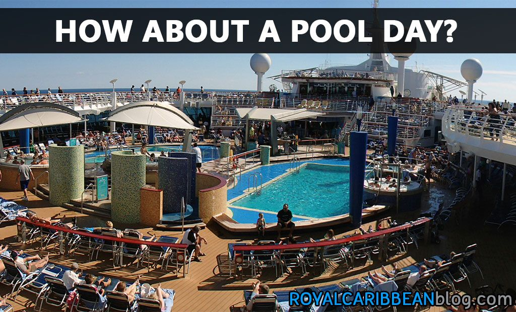 How about a pool day?  #cruise #travel
