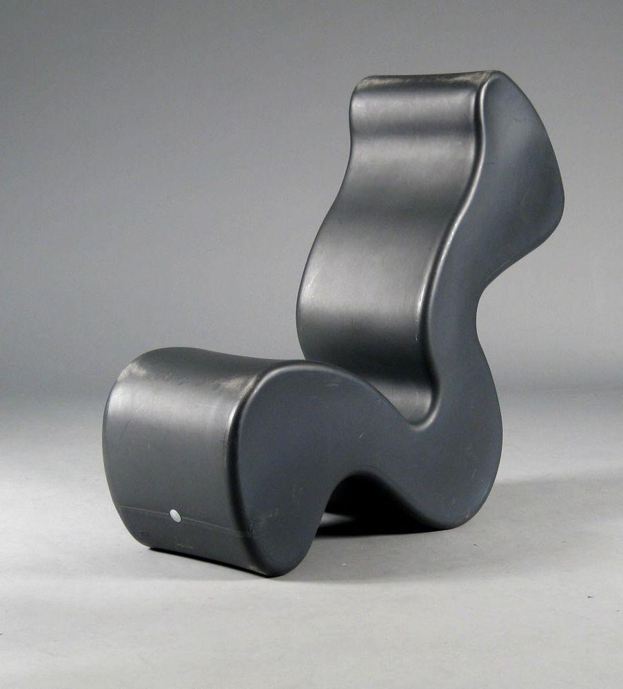 Phantom Chair verner panton phantom lounge chair table grey plastic