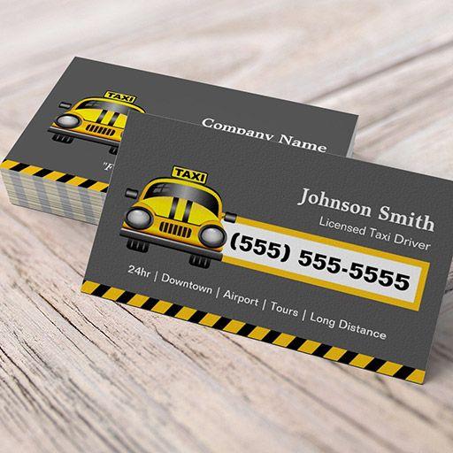 Urban taxi driver yellow cap business cards taxi business cards customizable urban taxi driver yellow cap business cards colourmoves