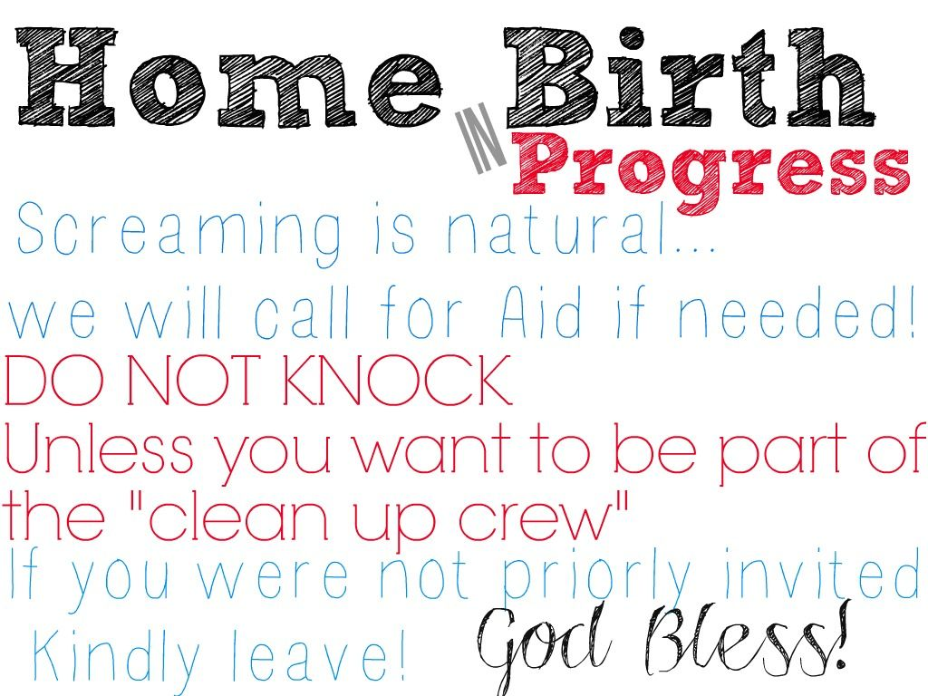 Homebirth essay Essays     Birthing Instincts with Dr  Stu homebirth in progress