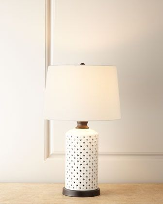 Lattice Table Lamp At Neiman Marcus Lighting Boutique