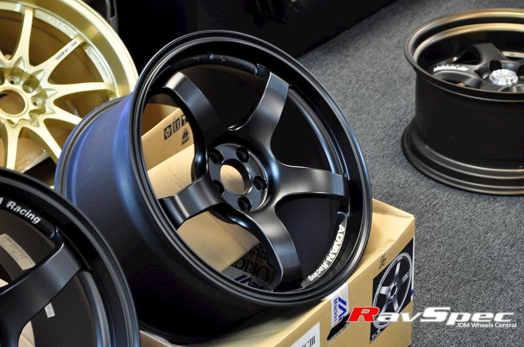 Advan Racing Tciii 18x9 0 25mm 5x114 Flat Black