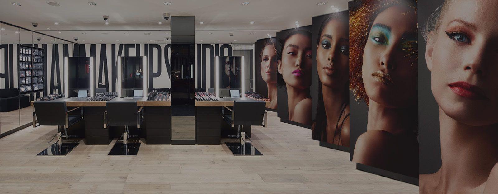 Stores Mac makeup, Makeup studio, Makeup