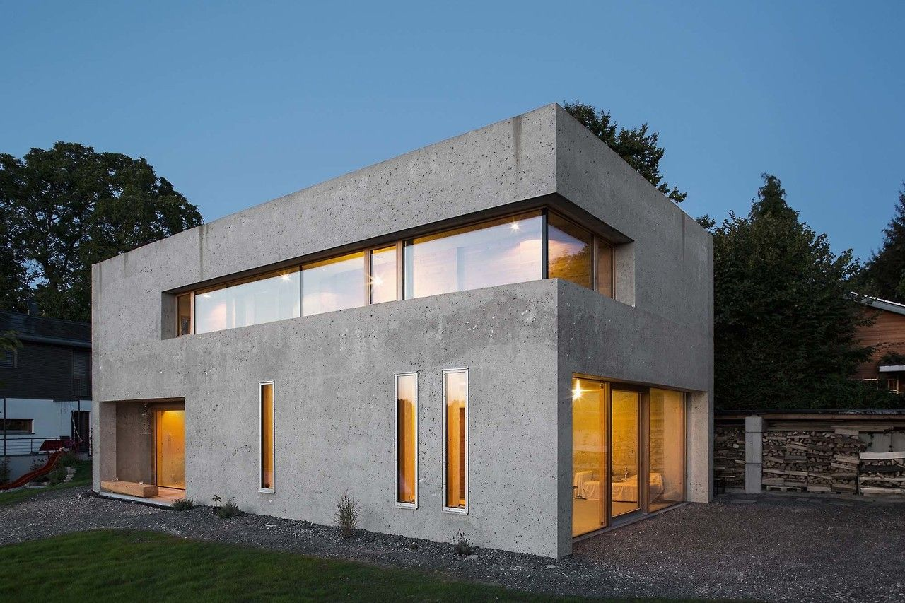 Rh Architektur Nickel Bernhardt House House For The