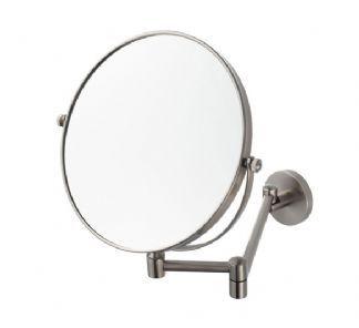 Aqualux Haceka Pro 2500 Shaving Mirror Brushed Nickel Shaving Mirror Mirror Extendable Bathroom Mirrors