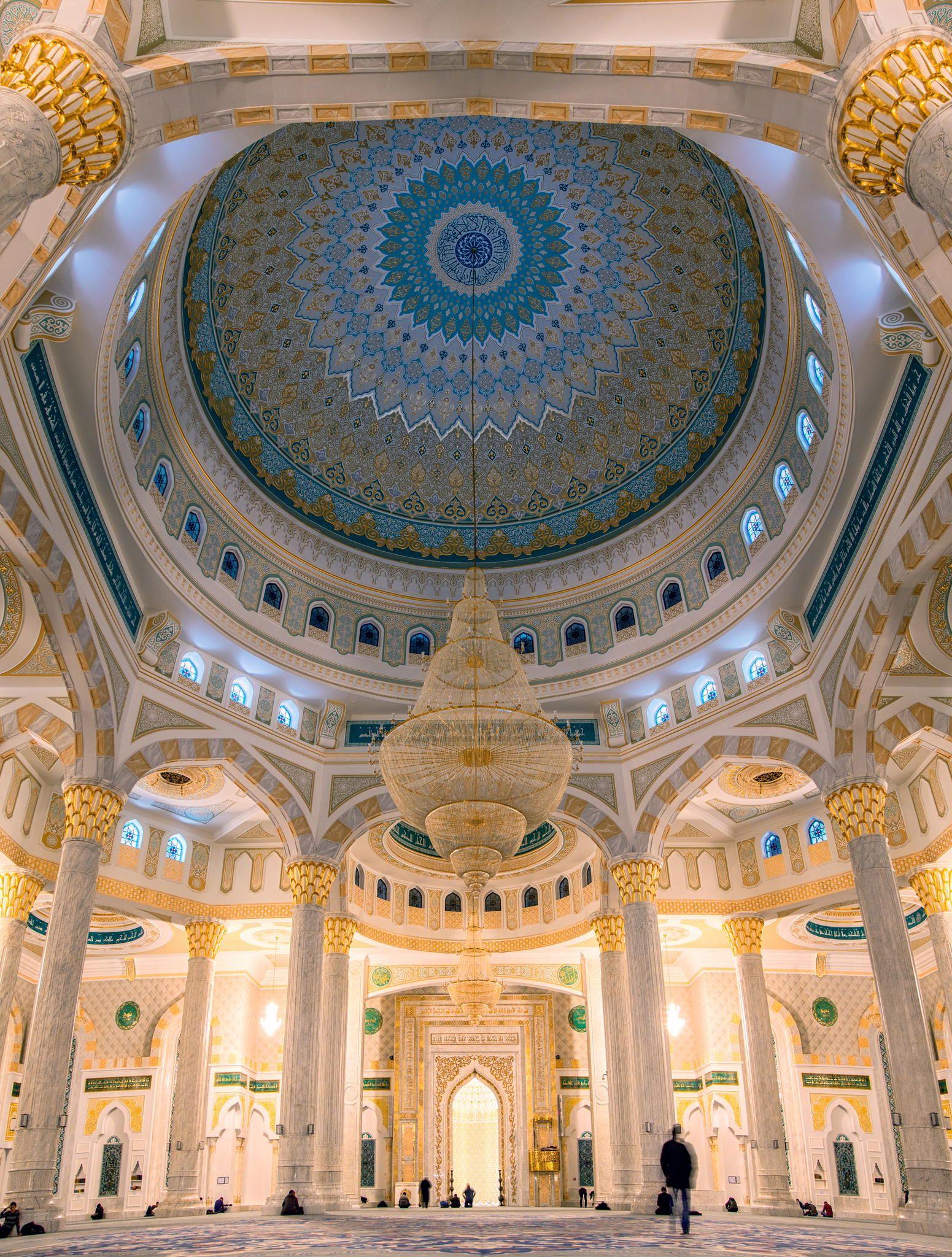 Khazret Sultan Mosque Astana Kazakhstan Islamic Architecture Beautiful Mosques Architecture