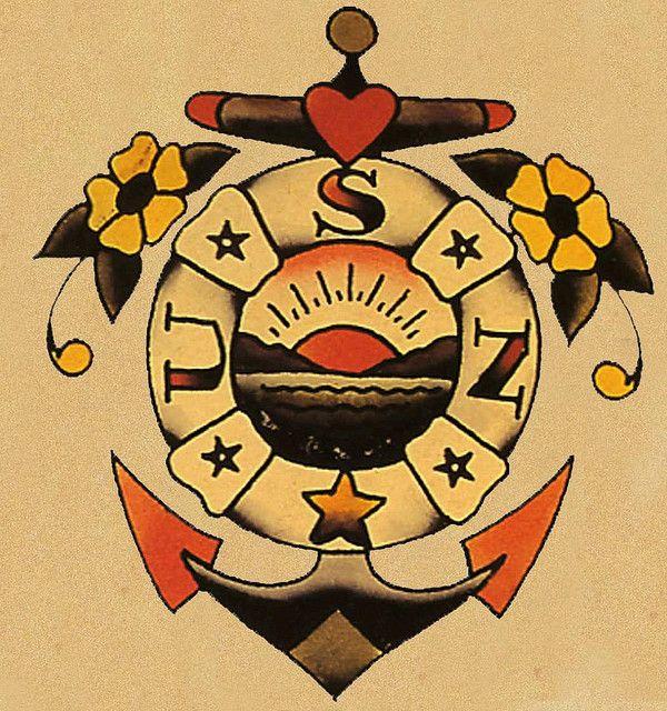 #sailorJerry #USN #Tattoo Flash