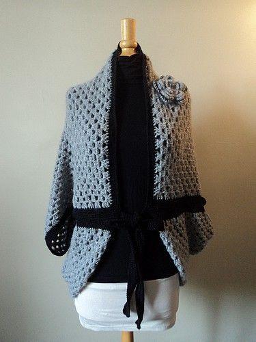 tuto and co le gilet origami crochet facile niveau debutante crochet tops pulls. Black Bedroom Furniture Sets. Home Design Ideas
