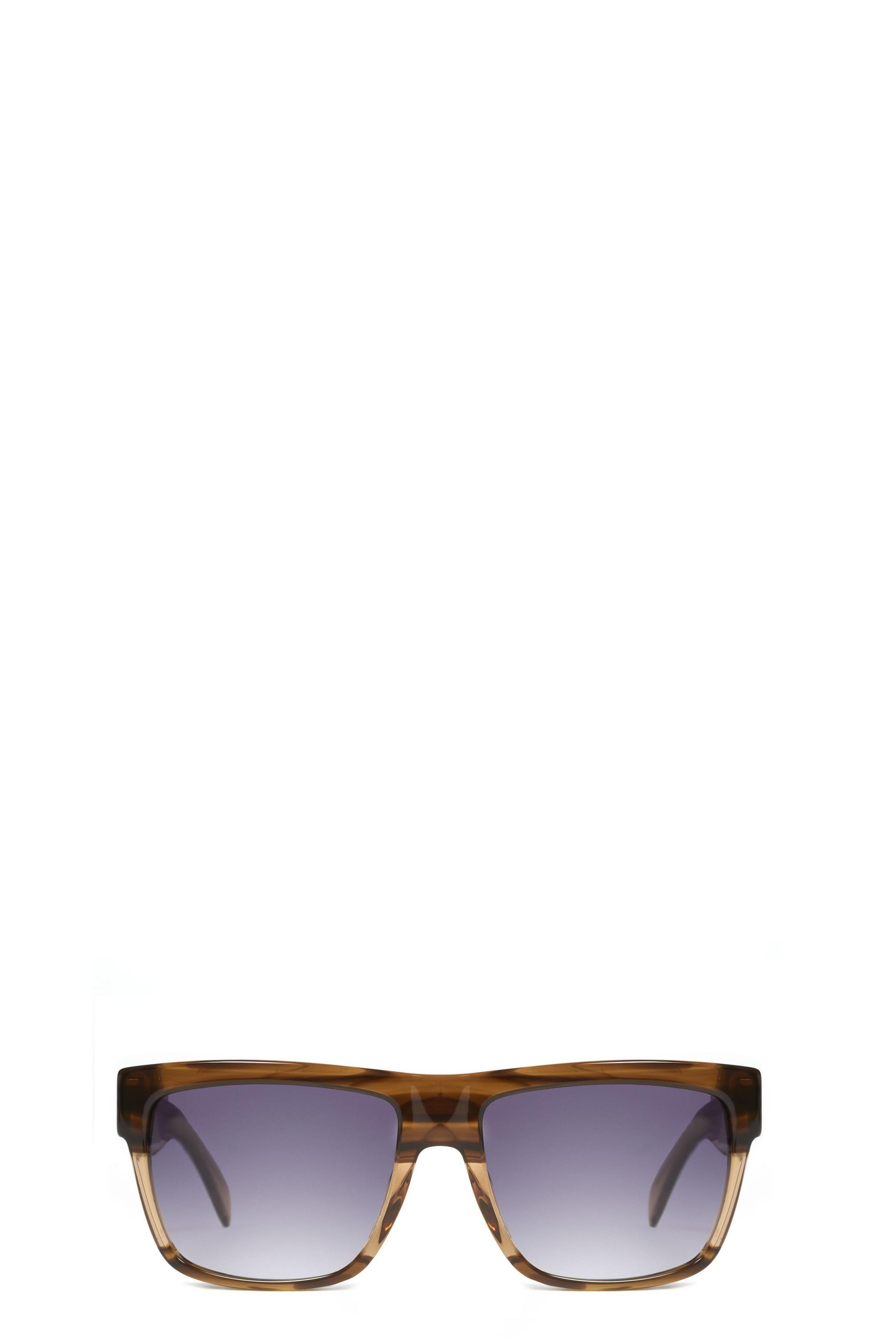 Marc by Marc Jacobs Colorblock Square Sunglasses feature plastic ...