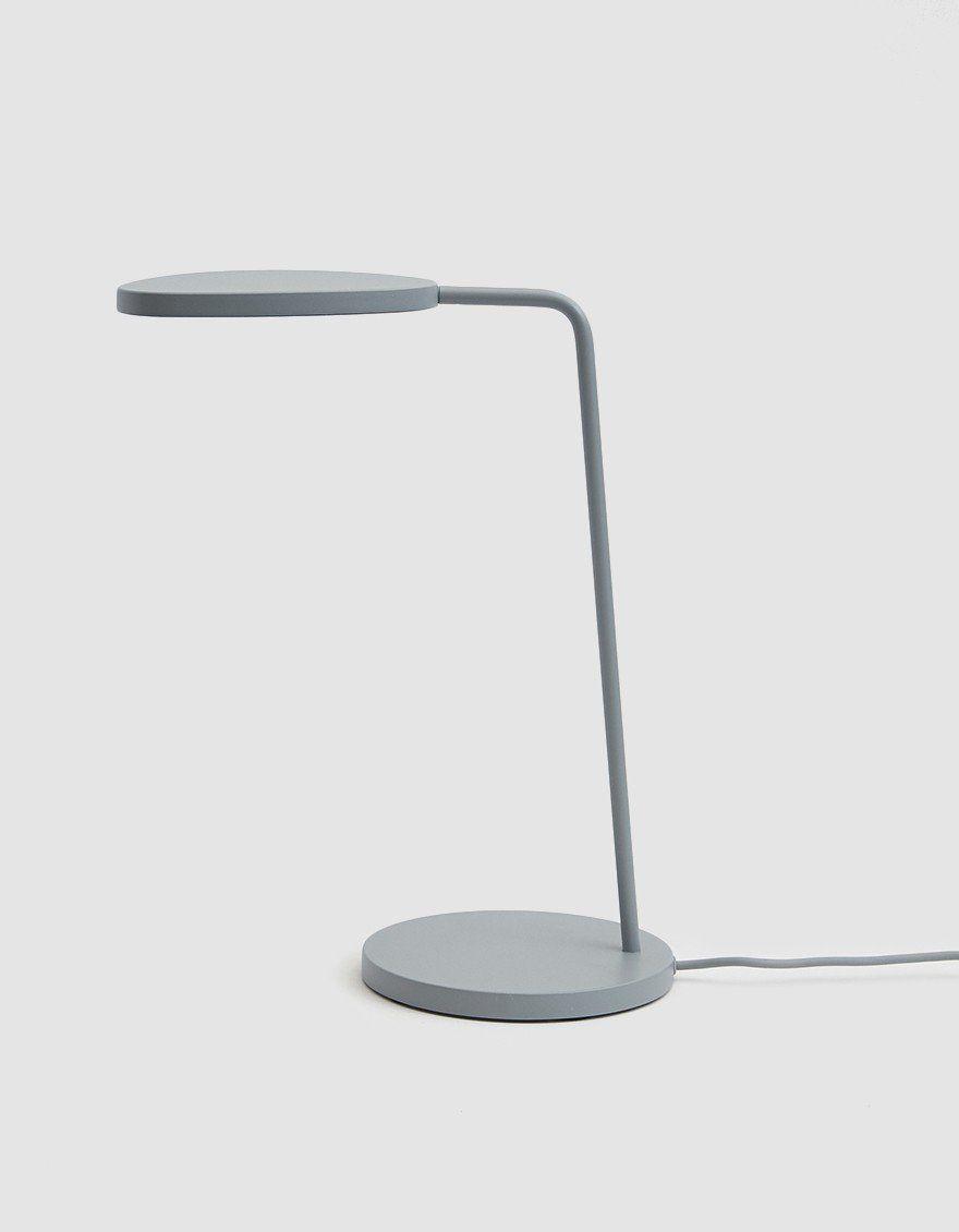 Muuto Leaf Table Lamp In Grey Table Lamp Lamp Leaf Table