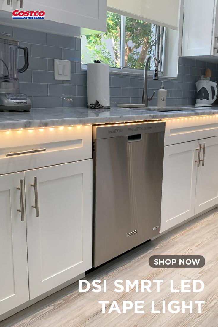 Dsi Smrt Led Tape Light 16 Ft Kitchen Decor Inspiration Kitchen Remodel Small Kitchen Cabinet Remodel