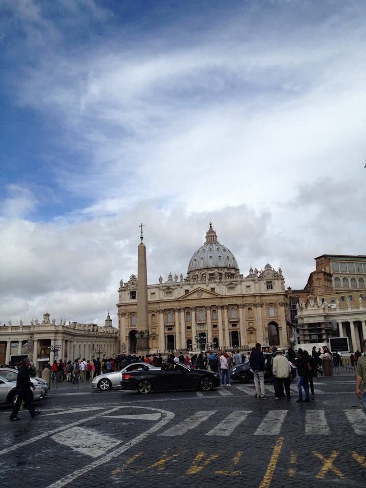 Vatican City so beautiful with lots of stories to tell.
