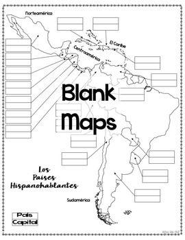 Blank Map Of Spanish Speaking Countries : blank, spanish, speaking, countries, Spanish-Speaking, Countries, Quizzes, Speak, Spanish,, Spanish, Speaking, Countries,