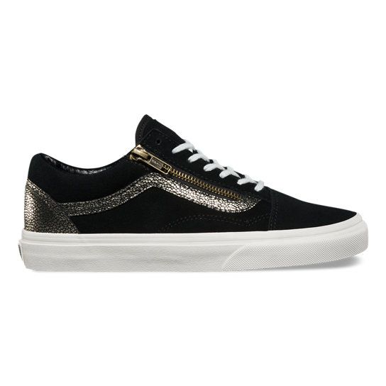 Shop Gold Dots Old Skool Zip Shoes today at Vans. The
