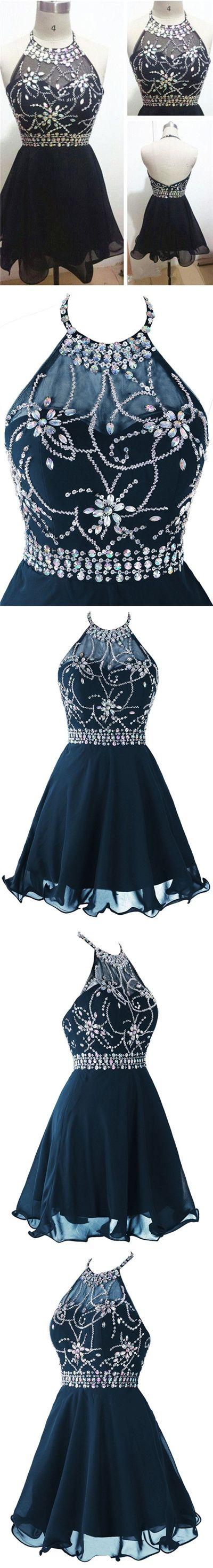 homecoming dress little black dress short prom dress party