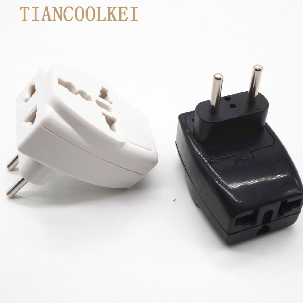 European Plug Socket Converter To Eu Russia High Quality Wiring A Germany International Travel Universal Adapter Ac Electrical