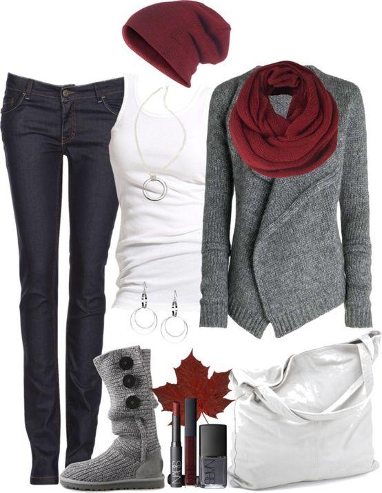 561d5f5d941a Blanco y gris   moda   Pinterest   Гардероб, Повседневный и Наряды